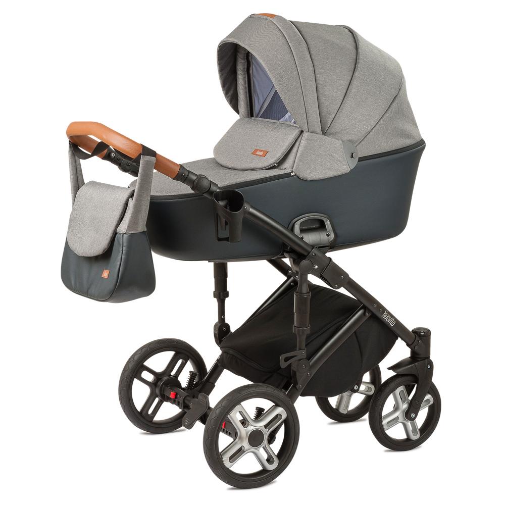 Купить Детская коляска Nuovita Carro Sport 2 в 1, цвет - Grigio nero/Серо-черный