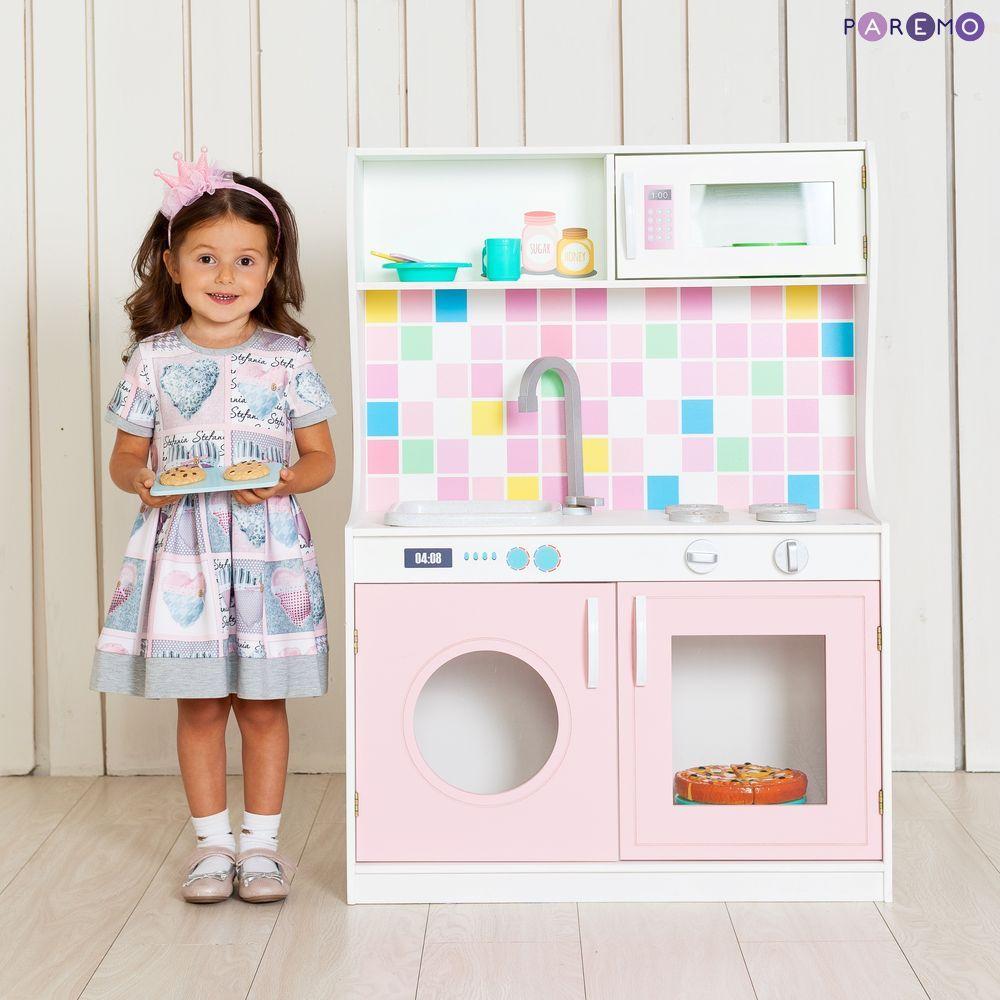 Купить Игрушечная мини-кухня - Алвеоло Роуз, Paremo