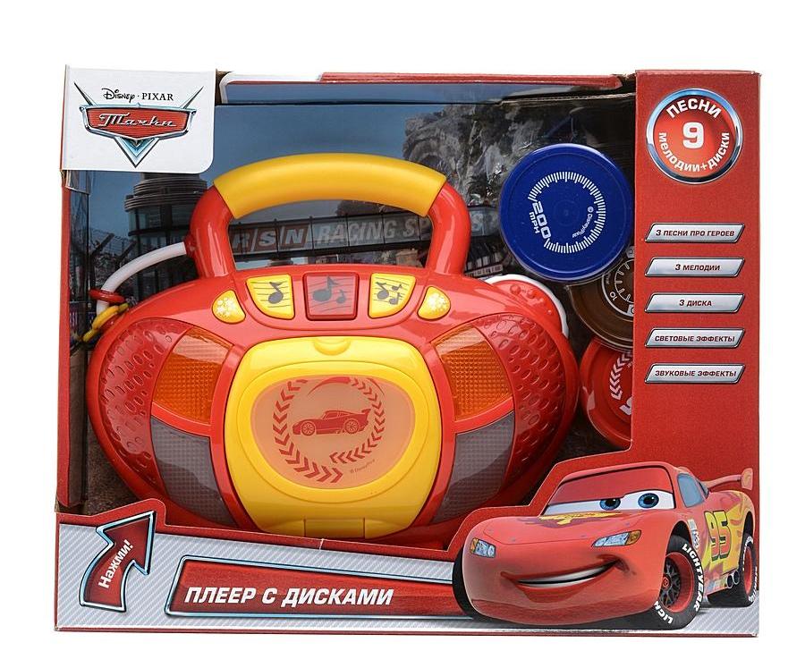 Плеер с тремя дисками Дисней ТачкиCARS 3 (Игрушки Тачки 3)<br>Плеер с тремя дисками Дисней Тачки<br>