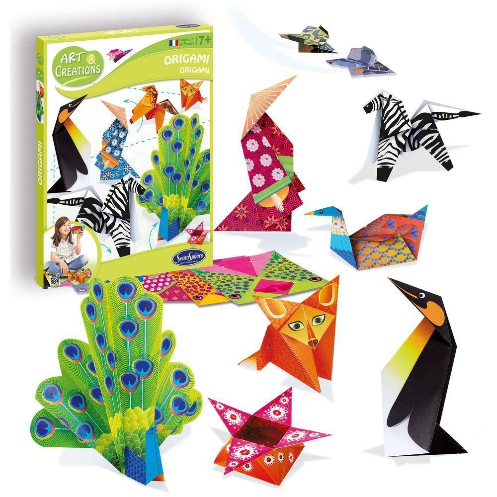 Купить Набор для детского творчества - Оригами, SentoSpherE