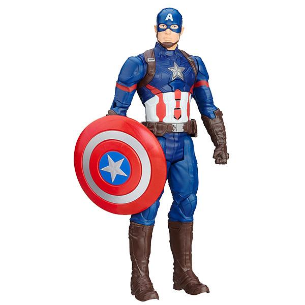 Интерактивная фигурка Первого Мстителя из серии AvengersAvengers (Мстители)<br>Интерактивная фигурка Первого Мстителя из серии Avengers<br>