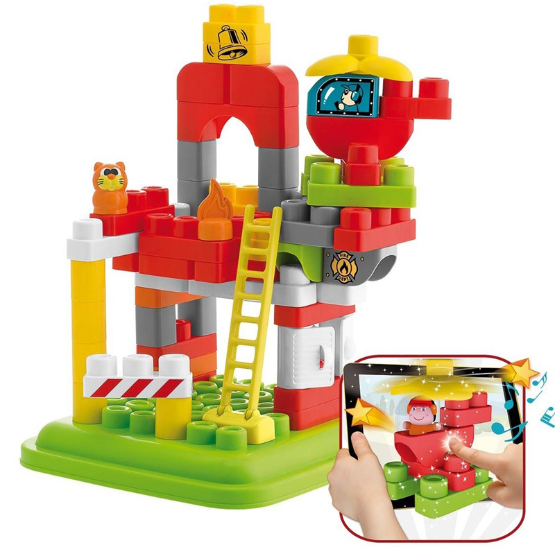 Набор строительных блоков  Пожарная станция, 70 шт. - Конструкторы других производителей, артикул: 167434