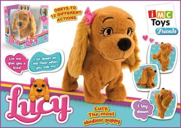 Собака Lucy интерактивная, выполняет 12 командИнтерактивные животные<br>Собака Lucy интерактивная, выполняет 12 команд<br>