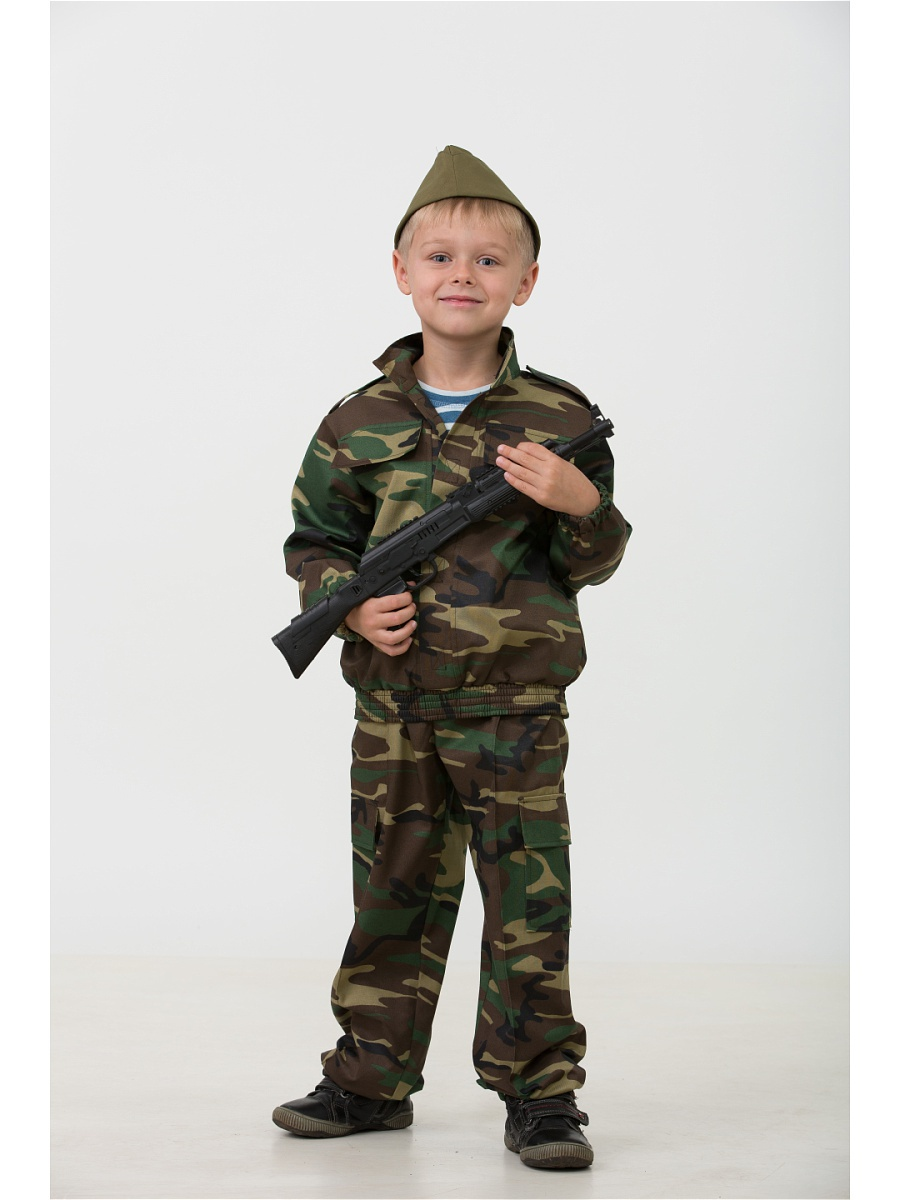 Купить Карнавальный костюм из серии Профессии – Разведчик, размер 134-68, Батик