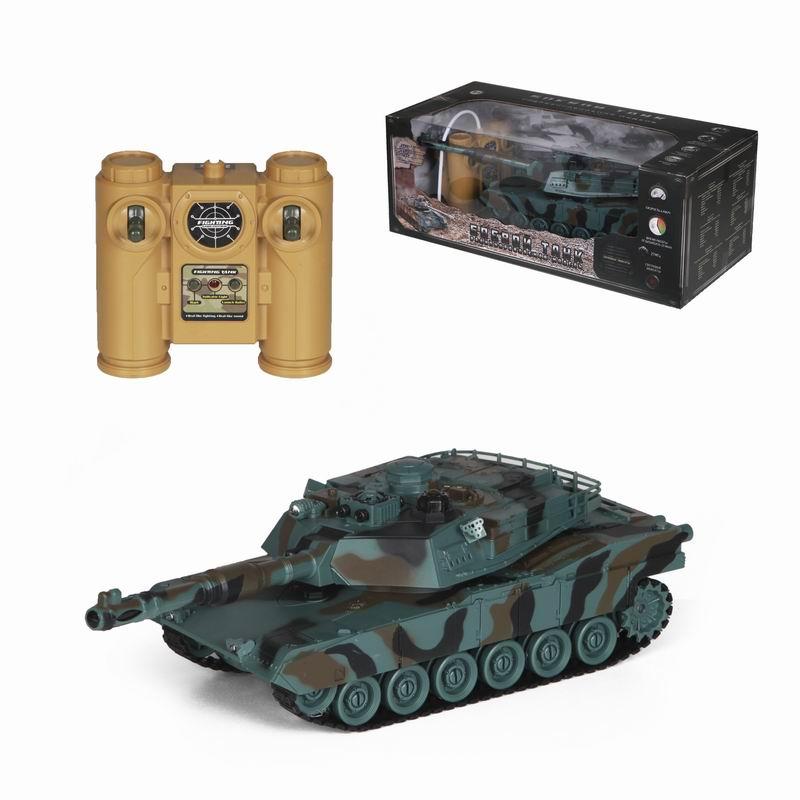 Радиоуправляемый танк М1А2 – Абрамс, зелёный камуфляж, 1:24Радиоуправляемые танки<br>Радиоуправляемый танк М1А2 – Абрамс, зелёный камуфляж, 1:24<br>