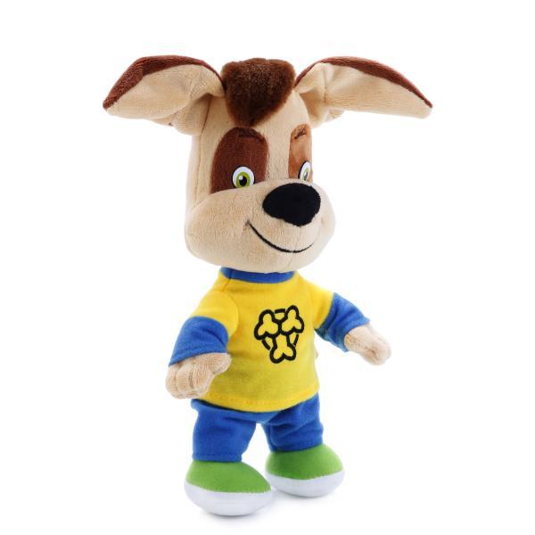 Озвученная мягкая игрушка Барбоскины - Дружок, 26 смГоворящие игрушки<br>Озвученная мягкая игрушка Барбоскины - Дружок, 26 см<br>