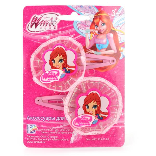 Купить Набор из 2 заколок для волос «Винкс», Играем вместе