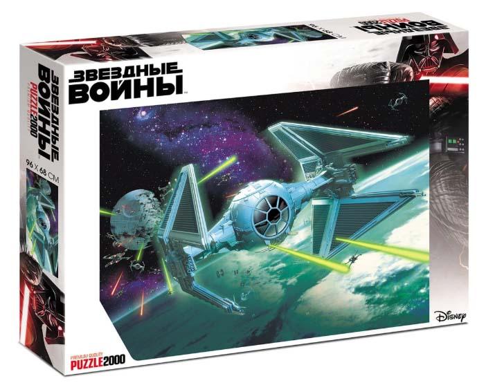 Купить Пазлы Premium 2000 элементов - Звездные войны Lucas-Star Wars, Hatber