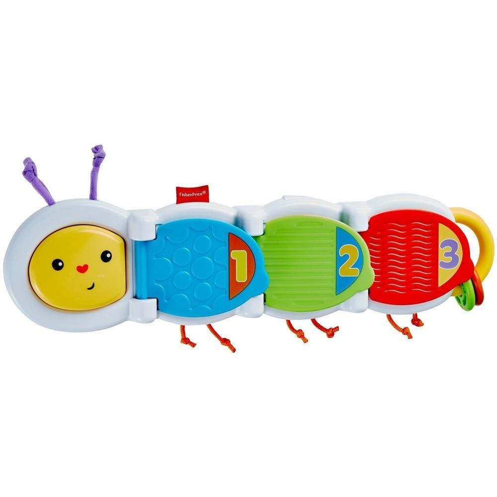 Гусеница с сюрпризом Fisher-PriceРазвивающие игрушки Fisher-Price<br>Гусеница с сюрпризом Fisher-Price<br>