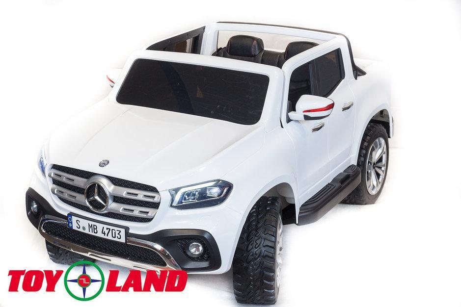 Купить Электромобиль ToyLand Mersedes-Benz X-Class белого цвета