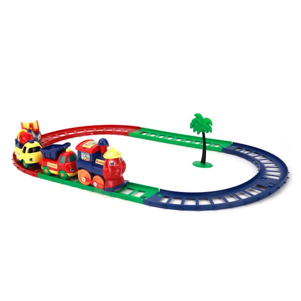 Купить Железная дорога: Ну, погоди!, на батарейках, Играем вместе