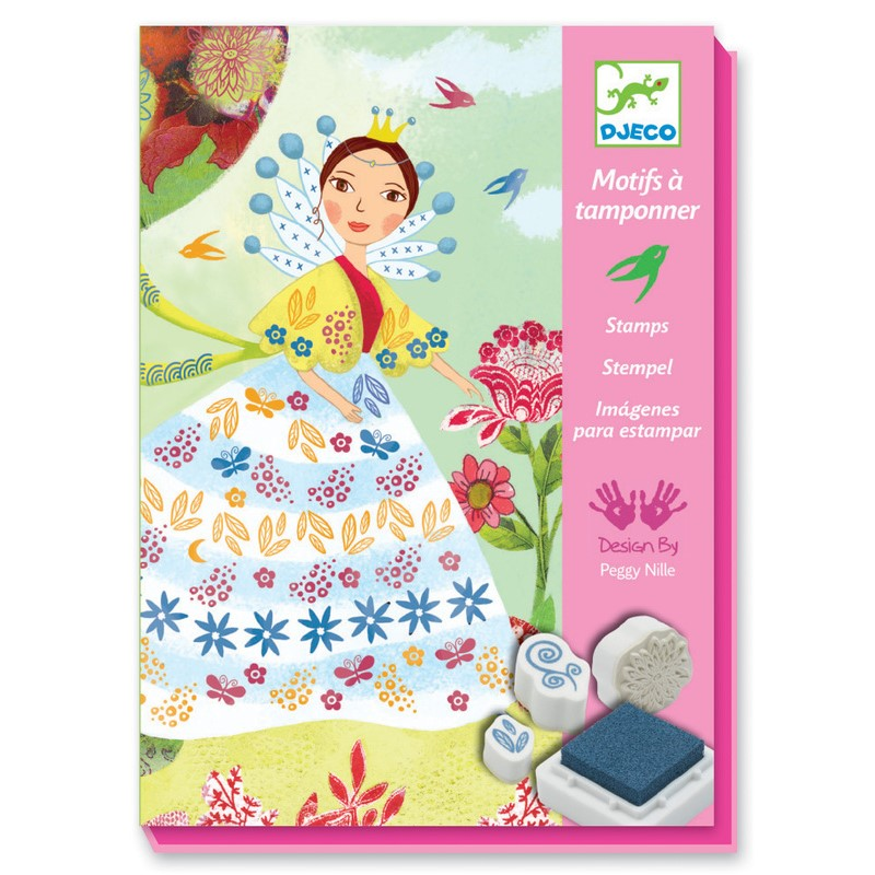 Набор штампов - Девушки с цветамиШтампики<br>Набор штампов - Девушки с цветами<br>