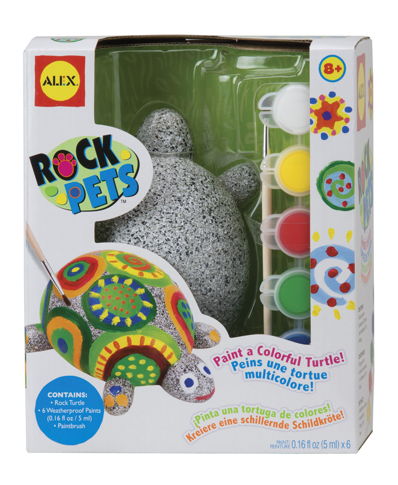 Купить Набор для росписи - Раскрась черепаху, от 8-ми лет, Alex