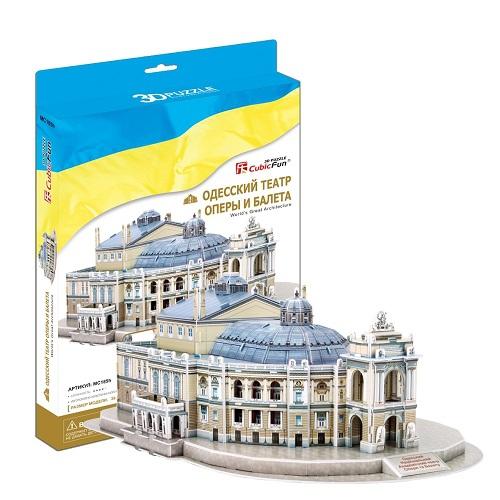3D пазл Одесский театр оперы и балетаПазлы объёмные 3D<br>3D пазл Одесский театр оперы и балета<br>