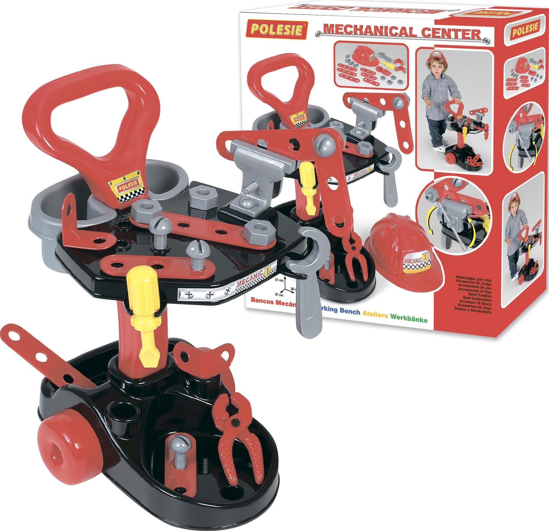 Тематический игровой набор – Механик, в коробкеДетские мастерские, инструменты<br>Тематический игровой набор – Механик, в коробке<br>