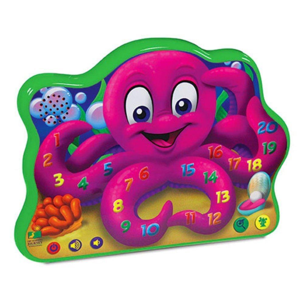 Веселый осьминог, со звуковым и световым эффектамиИнтерактивные игрушки<br>Веселый осьминог, со звуковым и световым эффектами<br>