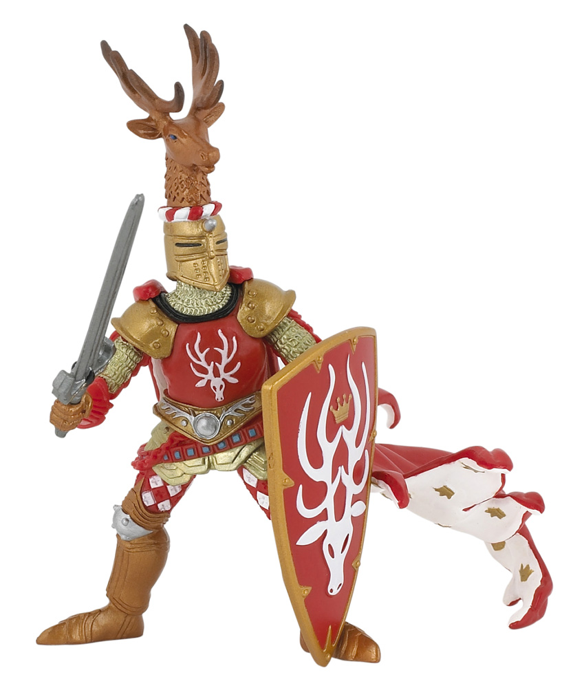 Фигурка Рыцарь воина оленя
