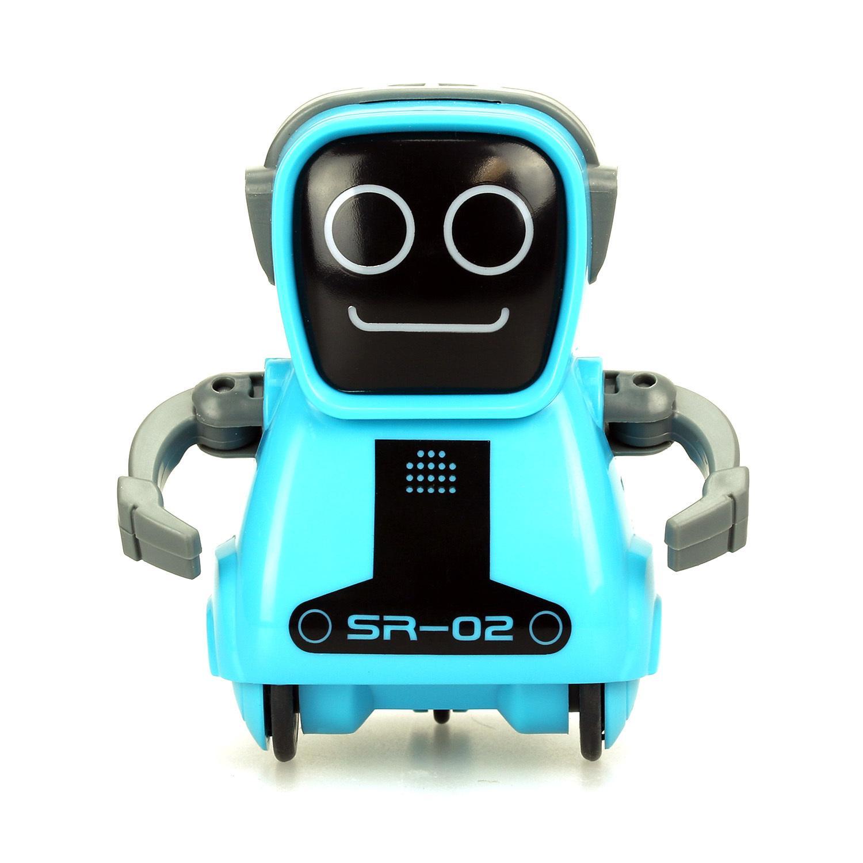 Купить Робот - Покибот, синий, свет и звук, Silverlit