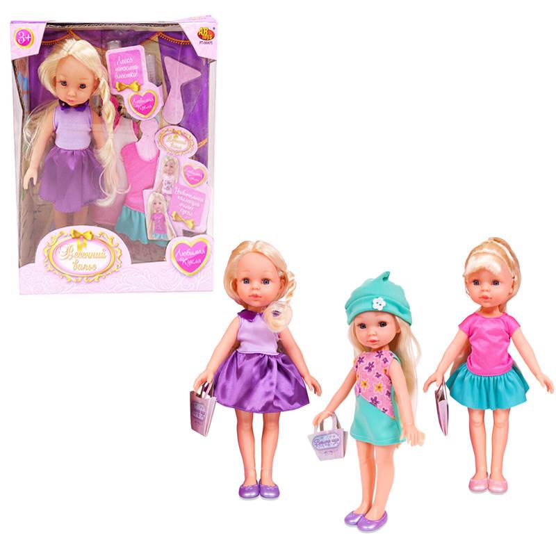 Кукла из серии Весенний вальс, с аксессуарами, 3 видаПупсы<br>Кукла из серии Весенний вальс, с аксессуарами, 3 вида<br>