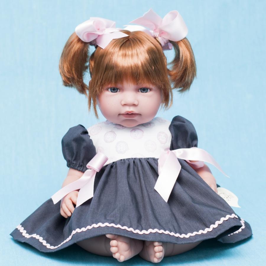 Кукла Нора с хвостиками, 50 см.Куклы ASI (Испания)<br>Кукла Нора с хвостиками, 50 см.<br>