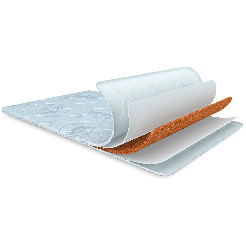 Купить Детский матрас Nuovita Malusha в приcтавную кровать 81 х 43 х 4 см.