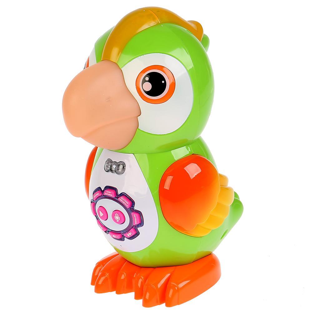 Купить Развивающая игрушка - Попугай, 15 сказок, функция записи и воспроизведения, 9 колыбельных, 31 песня, Умка
