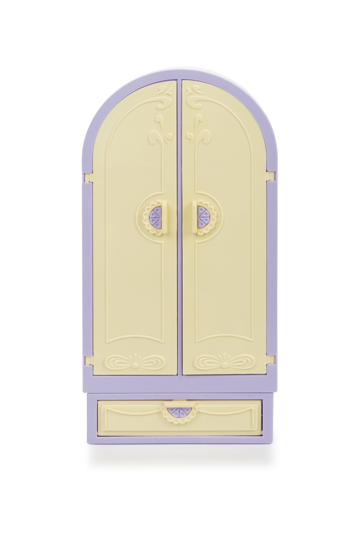 Купить Шкаф из серии Маленькая принцесса, светло-сиреневый, Огонек