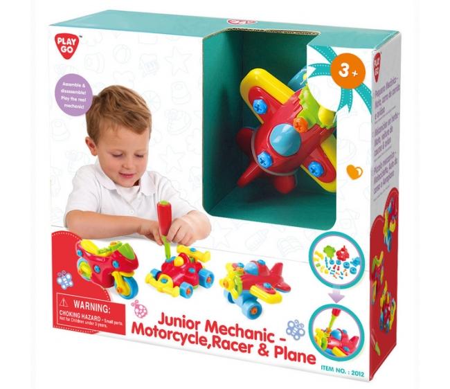 Игровой набор - Юный механик 3 в 1Машинки для малышей<br>Игровой набор - Юный механик 3 в 1<br>