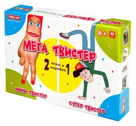 Настольная игра 46 - Мега твистерТвистер (Twister)<br>Настольная игра 46 - Мега твистер<br>