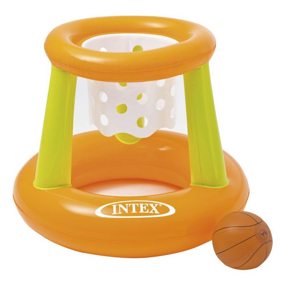 Корзина баскетбольная надувная, с мячомНадувные животные, круги и матрацы<br>Корзина баскетбольная надувная, с мячом<br>