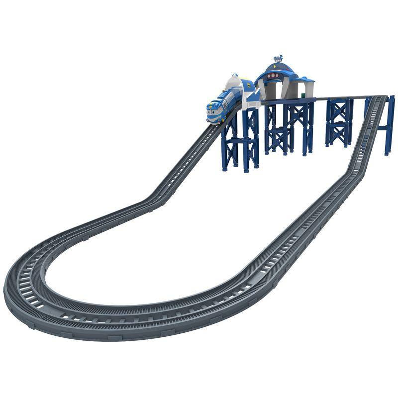 Купить Игровой набор - Станция Кея из серии Роботы-поезда, Silverlit