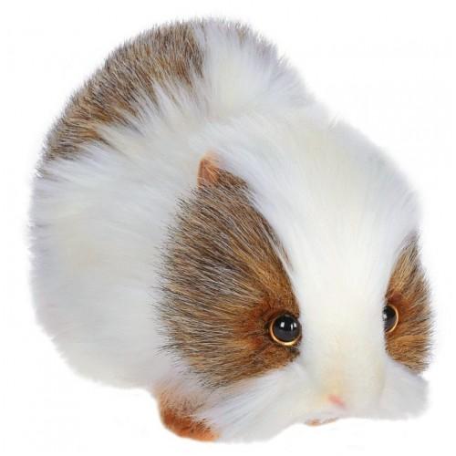 Мягкая игрушка - Морская свинка белая, 20 см.Животные<br>Мягкая игрушка - Морская свинка белая, 20 см.<br>
