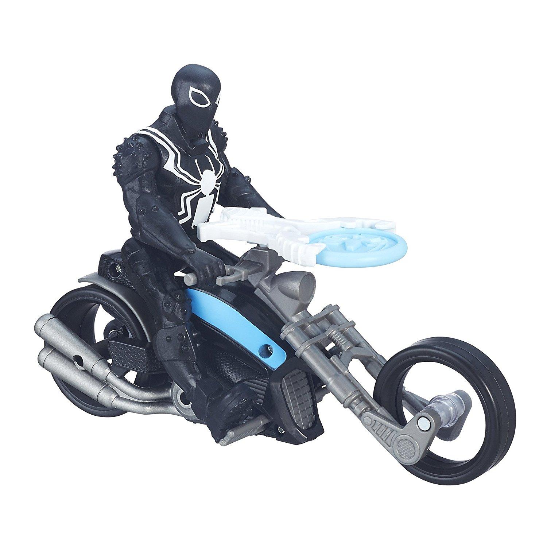 Фигурка Агент Веном из серии Spider-Man на гоночном мотоциклеSpider-Man (Игрушки Человек Паук)<br>Фигурка Агент Веном из серии Spider-Man на гоночном мотоцикле<br>