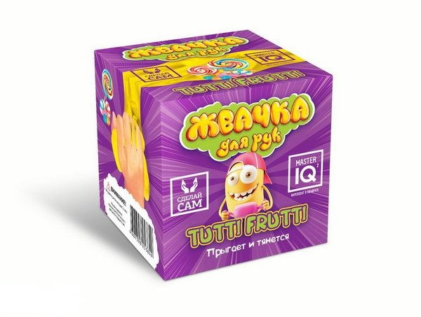 Купить Набор сделай своими руками - Жвачка для рук Tutti frutti, Дельта