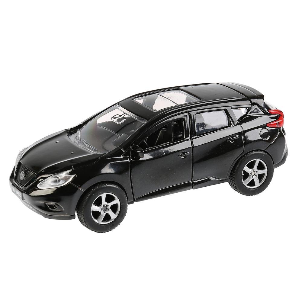 Купить Инерционная металлическая машина - Nissan Murano, черный 12 см, открываются двери-WB), Технопарк