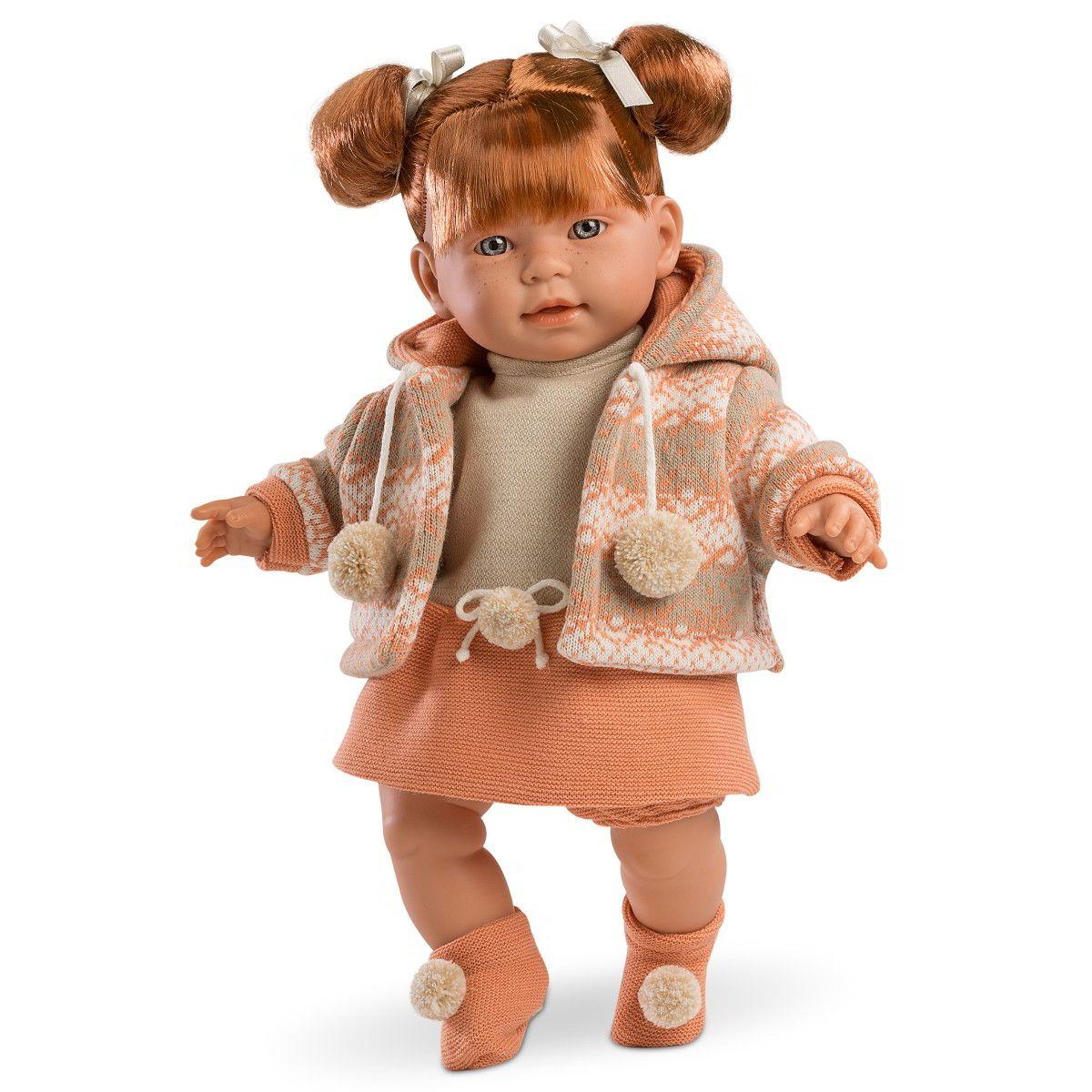 Кукла Амелия, 42 смИспанские куклы Llorens Juan, S.L.<br>Кукла Амелия, 42 см<br>