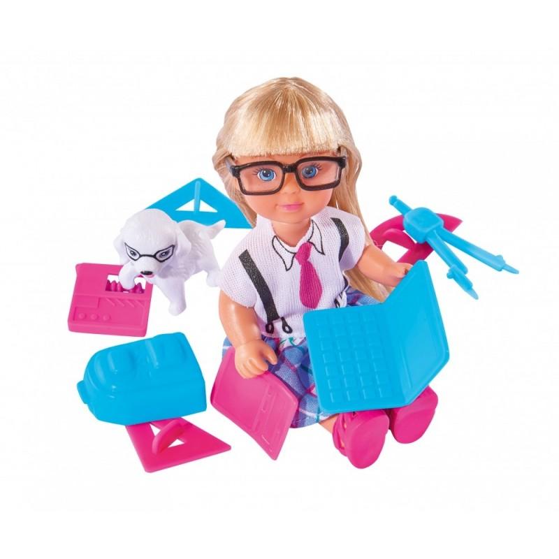 Кукла Еви и школьные принадлежностиКуклы Еви<br>Кукла Еви и школьные принадлежности<br>