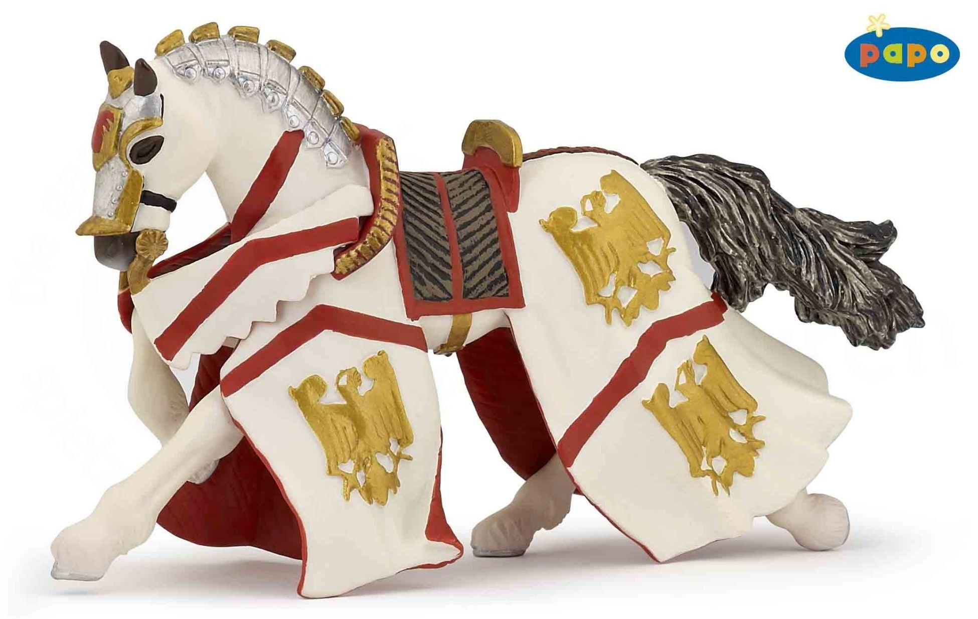 Конь рыцаря ПерсивалаФигурки Papo<br>Конь рыцаря Персивала<br>