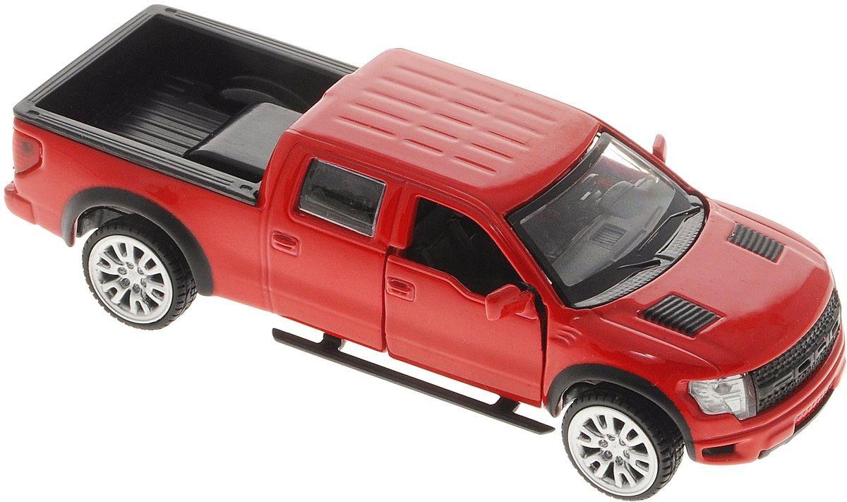 Купить Машина металлическая инерционная - Ford F-150 Svt Raptor, Технопарк