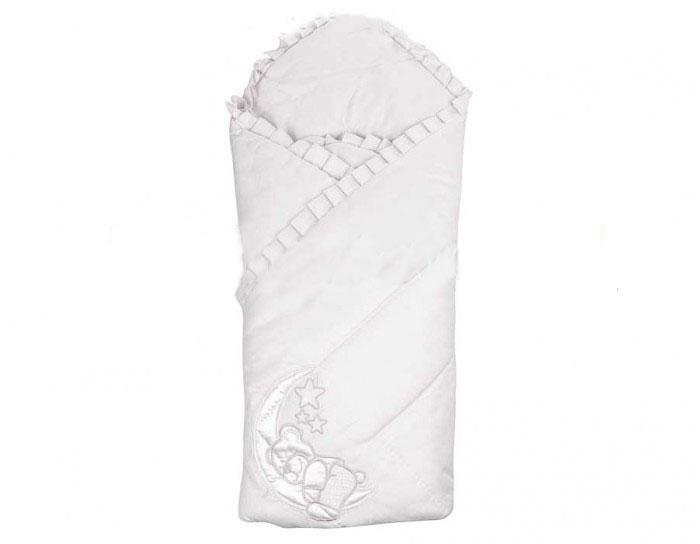 Конверт-одеяло на выписку М-2023, белый - Конверты, комплекты на выписку, артикул: 171209