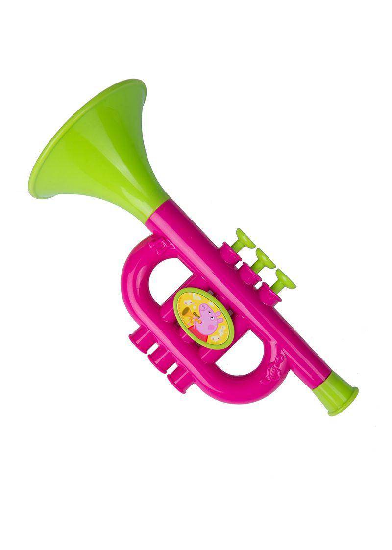 Музыкальная труба из серии Свинка ПеппыДуховые инструменты<br>Музыкальная труба из серии Свинка Пеппы<br>