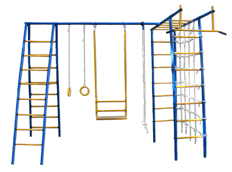 Уличный детский спортивный комплекс Kampfer Active Game PlusСпортивные комплексы<br>Уличный детский спортивный комплекс Kampfer Active Game Plus<br>