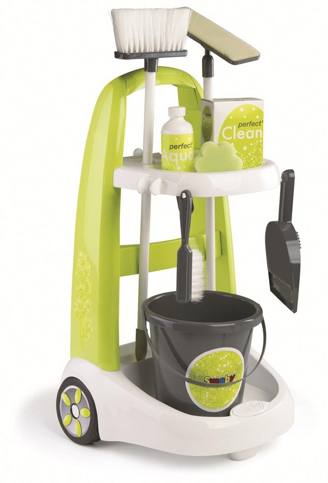 Набор для уборки с тележкойУборка дома, стирка, глажка<br>Набор для уборки с тележкой<br>