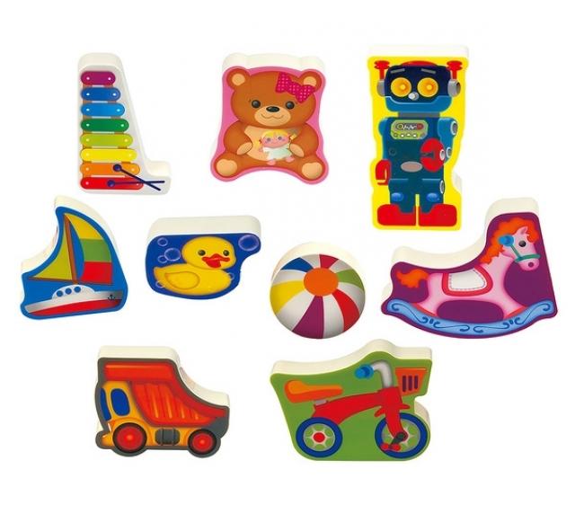 Пазл-головоломка - ИгрушкиПазлы для малышей<br>Пазл-головоломка - Игрушки<br>