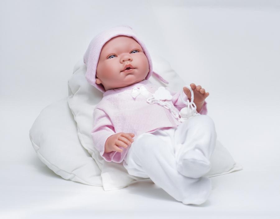 Кукла Мария в розовой шапочке, 45 см.Куклы ASI (Испания)<br>Кукла Мария в розовой шапочке, 45 см.<br>