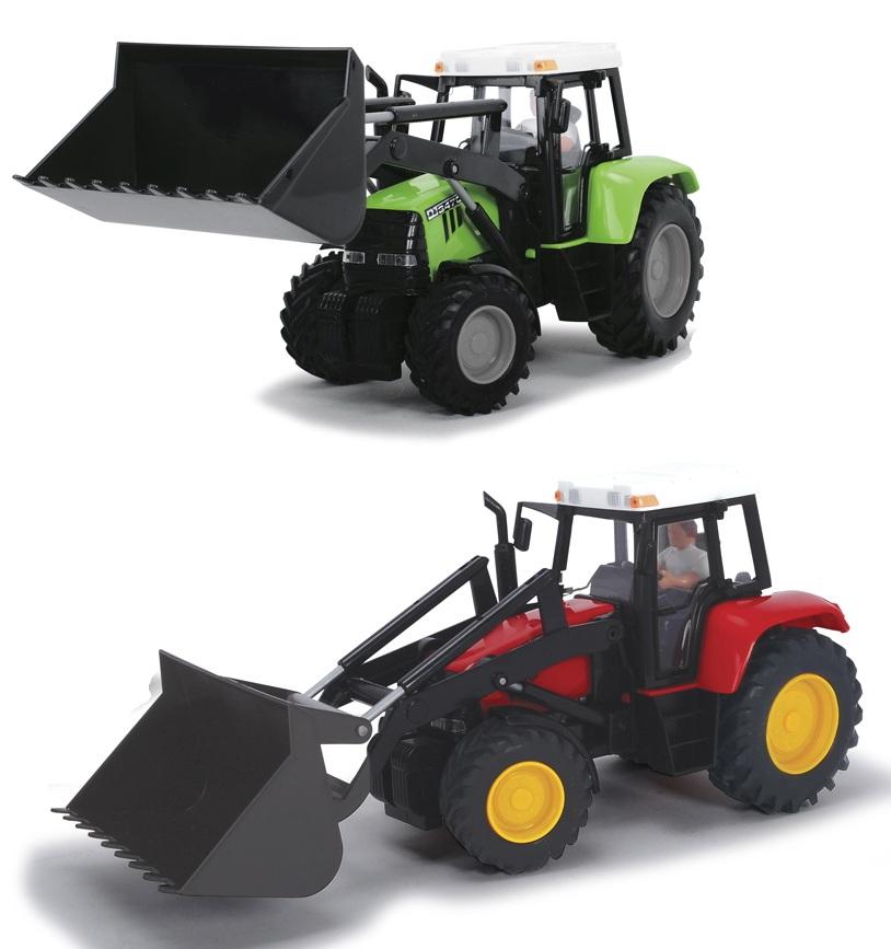Трактор фрикционный, 25 см.Игрушечные тракторы<br>Трактор фрикционный, 25 см.<br>