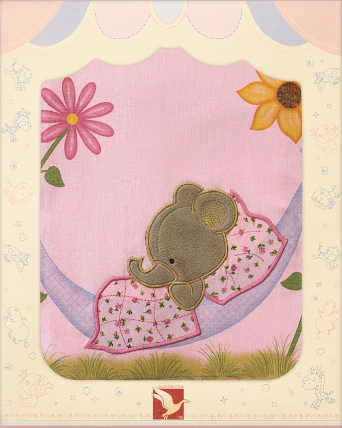 Постельное белье Сладкий сон, 3 предмета, розовоеДетское постельное белье<br>Постельное белье Сладкий сон, 3 предмета, розовое<br>