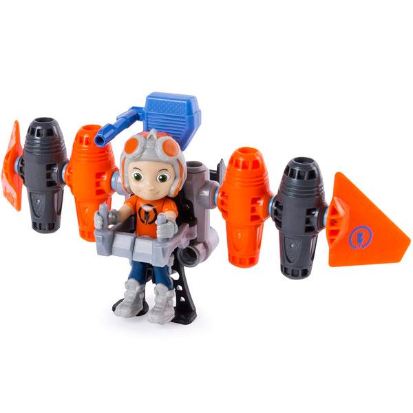 Купить Строительный набор с фигуркой героя Rusty Rivets - Jetpack, Spin Master