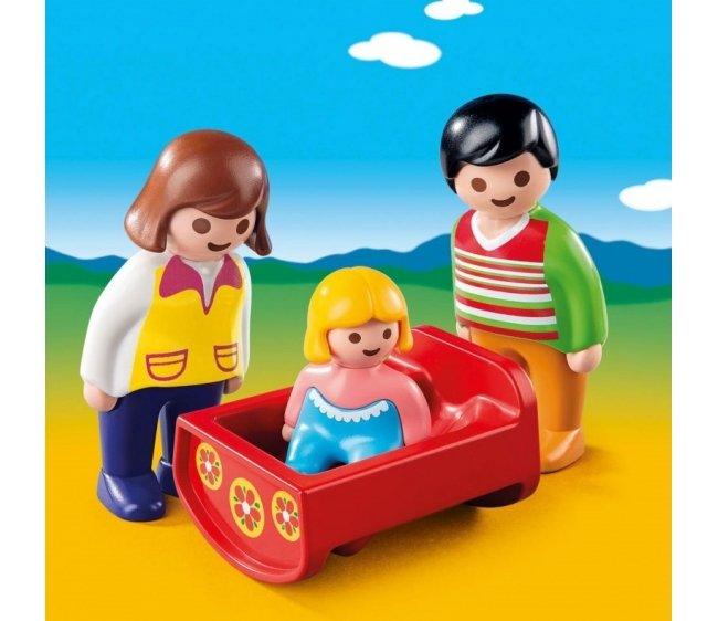 Игровой набор - Родители с люлькойФигурки людей<br>Игровой набор - Родители с люлькой<br>