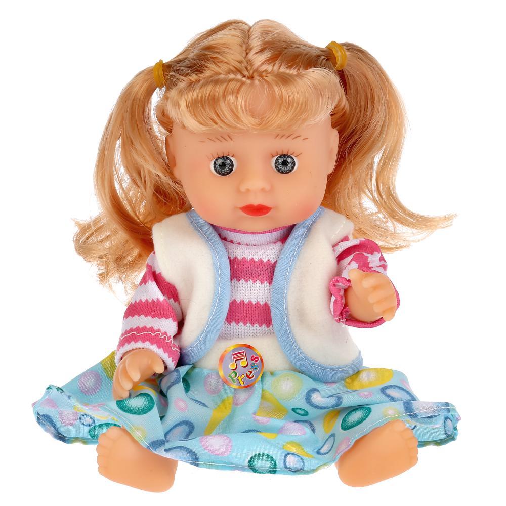 Интерактивная кукла в рюкзачке